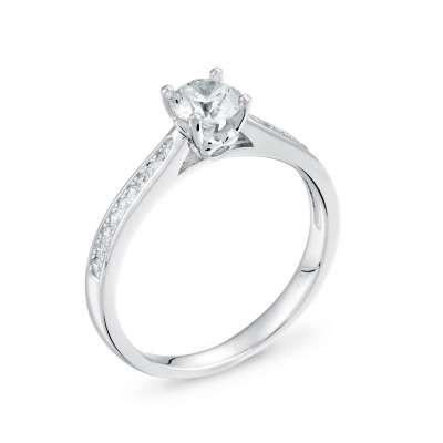 LAYLA srebrni zarucnicki prsten_Silver for you