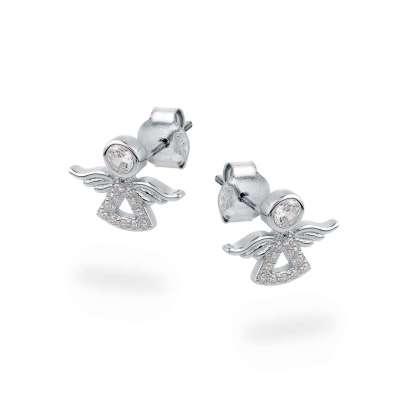 Angels srebrne nausnice Silver for you