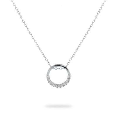 Clear Circle srebrna narukvica Silver for you