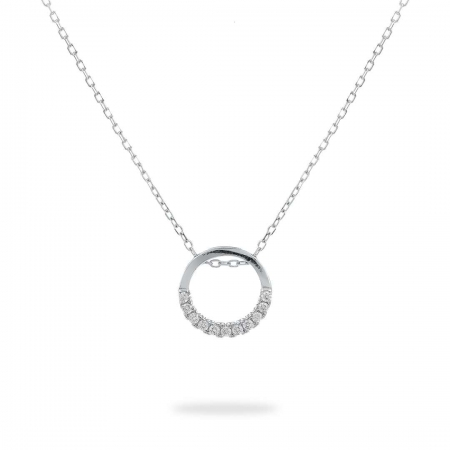 Clear Circle srebrna narukvica Silver for you