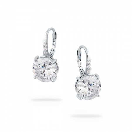 Clear Sparkles srebrne nausnice Silver for you