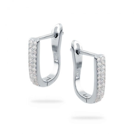 Glitters srebrne nausnice Silver for you