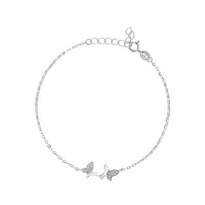 Shiny Butterfly srebrna narukvica Silver for you