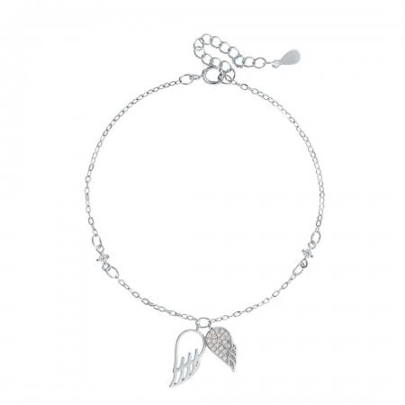 Shiny wings srebrna narukvica Silver for you
