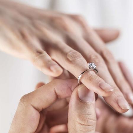 EVA srebrni zarucnicki prsten Silver for you