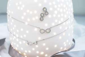 Infinity srebrni komplet Silver for you