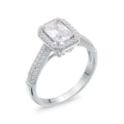 Jolie srebrni zarucnicki prsten Silver For You