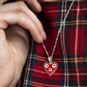 LADA srebrni privjesak Silver for you close up