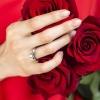 Mila srebrni zarucnicki prsten Silver for you