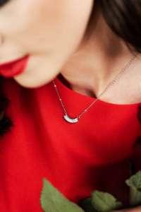 Queen Bee srebrna ogrlica Silver for you