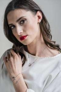WINGS srebrna ogrlica narukvica Silver for you