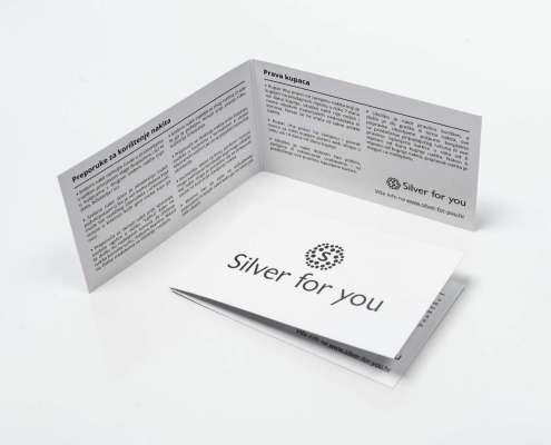 Silver for you - Certifikat srebrnog nakita