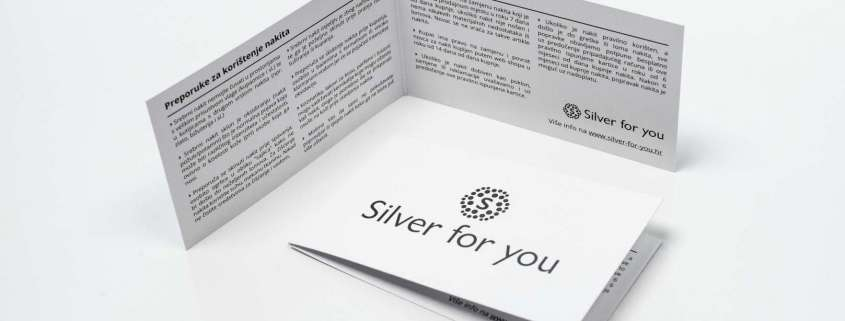 Silver for you - Certifikat srebrnog nakita