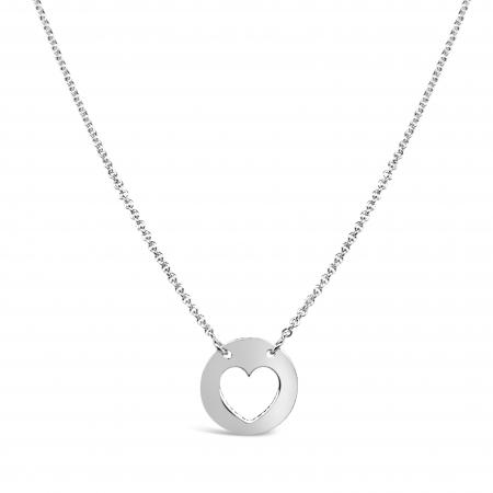 PURE HEART srebrna ogrlica