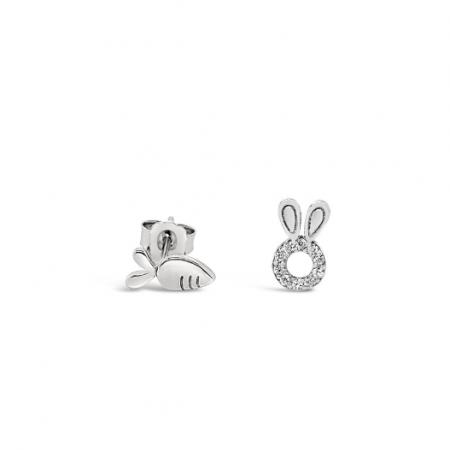 Happy-Bunny-srebrne-nausnice-Silver-for-you