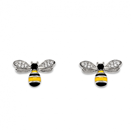 Pretty-Bees-srebrne-nausnice-Silver-for-you