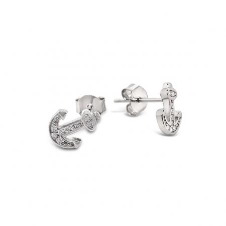 Shiny-Anchors-srebrne-nausnice-Silver-for-you