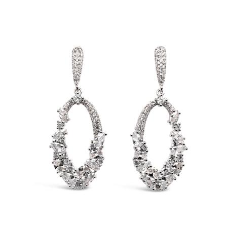 Sparkly-Ovals-srebrne-nausnice-Silver-for-you