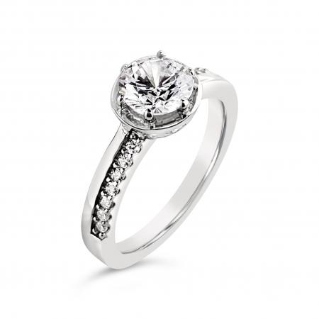 ANNA srebrni zaručnički prsten