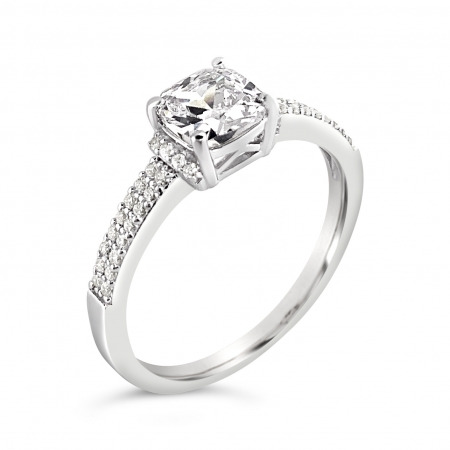 JULIA srebrni zaručnički prsten