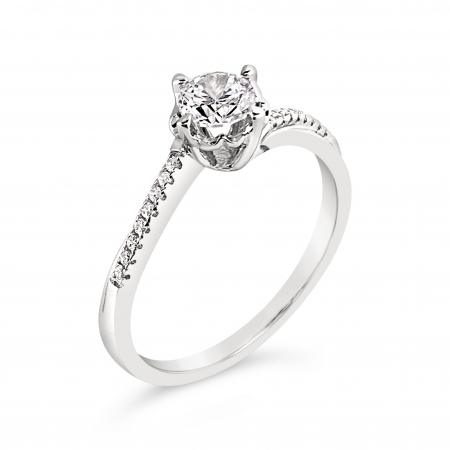 LUCY srebrni zaručnički prsten