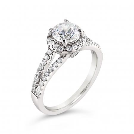 SARAH srebrni zaručnički prsten