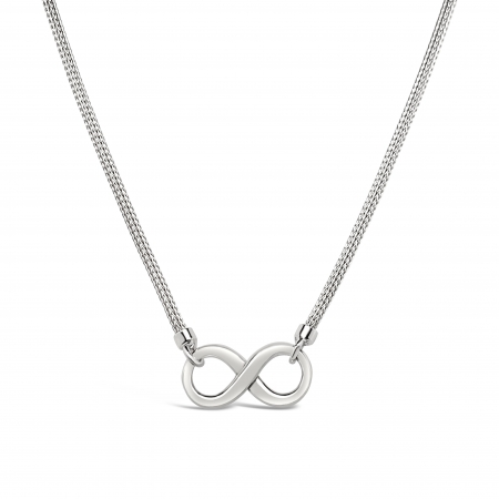ALWAYS-srebrna-ogrlica-Silver for you