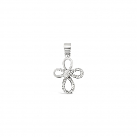CROSS-CLOVER-srebrni-privjesak-Silver-for-you