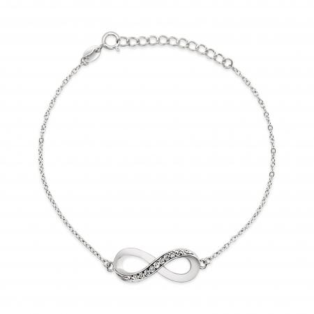 INFINITE srebrna narukvica-Silver for you
