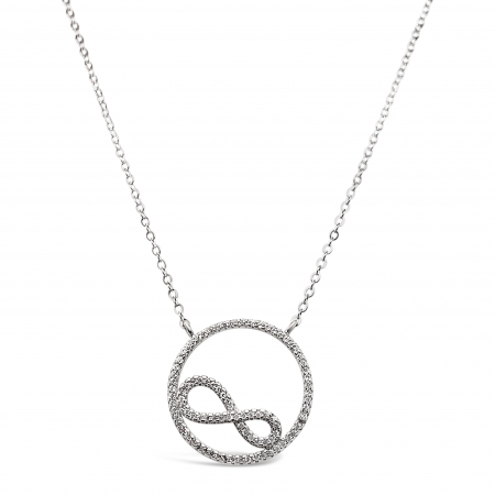 ROUND-INFINITY-srebrna-ogrlica-Silver-for-you