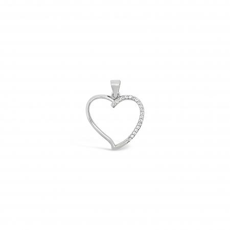 SIMPLE-HEART-srebrni-privjesak-Silver-for-you