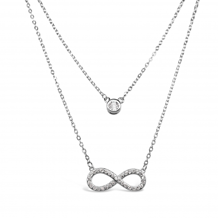 TIMELESS-POINT-srebrna-ogrlica-Silver-for-you