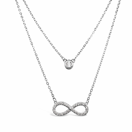 TIMELESS-POINT-srebrna-ogrlica-Silver-for-you
