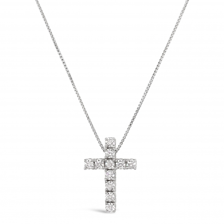 SILVER FAITH srebrna ogrlica