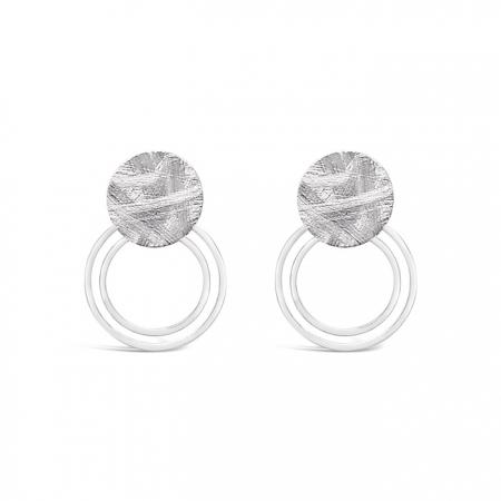 ASTRA srebrne naušnice Silver for you