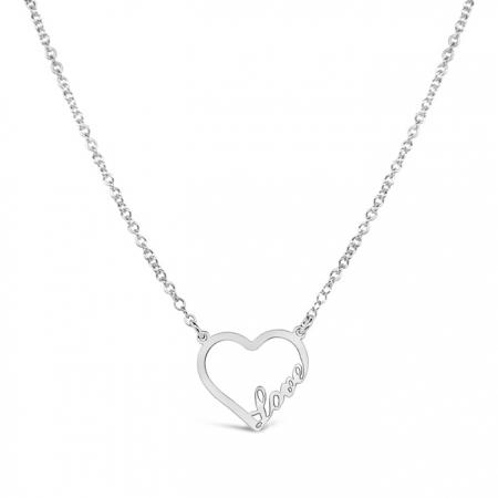 JUST LOVE srebrna ogrlica Silver for you