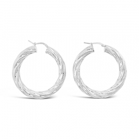 Abstract-Hoops-srebrne-nausnice_Silver-for-you