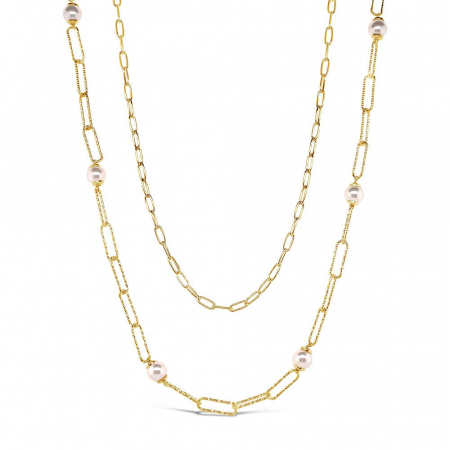 Double-Chain-srebrna-ogrlica-s-pozlatom_Silver-for-you
