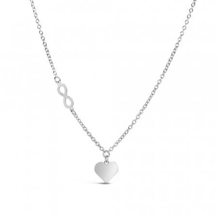 Elegant-Forever-Love-srebrna-ogrlica_Silver-for-you